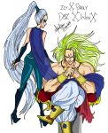Winx X DragonBall Z :Icy X Broly by divadonna224