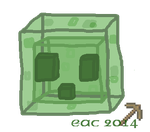 MISC-Minecraft Slime by rosa-pegasus