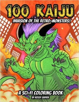 Kaiju coloring artbook is out now! by Silver-Ray