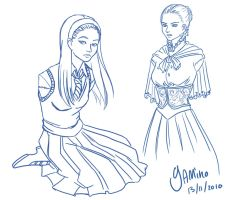 Nessarose Sketch by Yamino