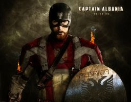 Captain-Albania-The-First-Avenge by immortaldoom