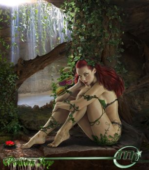 Poison Ivy From Batman DC by MLauviah