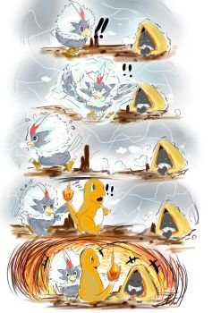 Snorunt catch cold in the cave....... by LSK0204