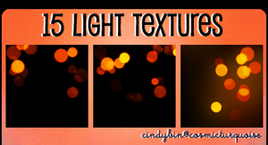 15 Light Textures by cindybin