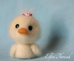 Elfin Thread - Fuzzy Mini Duck by ElfinThread