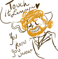 July Doodles 2014:The Thirtieth: Zach Galifianakis by RosyAutumn
