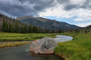 Clear Creek, Wyoming by Halcyon1990