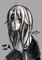 Fanart IA  test brush by Zodake