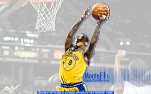 Monta Ellis by Roy03x