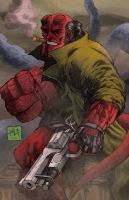 Hellboy 2013 colors by hanzozuken