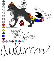 Autumn Ref. NEW by BloodyColorful-Veins