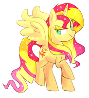 Princess Sunset Shimmer by Kaji-Tani