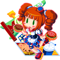 I Love Handburger by mandichan