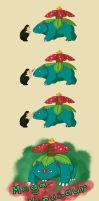 Venusaur evolves into... by TaruHanako