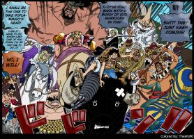 One Piece 748 New alliance? by Theahj90