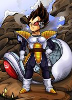 Dragonball Z - Vegeta by TimothyJamesF