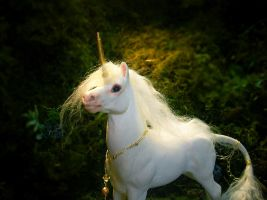 Unicorn Princeling Sculpture I by SovaeArt