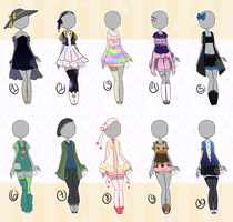 [CLOSED] Outfit adopts 07 by Mima-Adopts