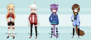 Kemonomimi Adopts [OPEN/2 LEFT] by xYuujin-Adopts