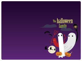 Tha Halloween Family by willylorbo
