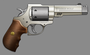 Timber Wolf Revolver by sharp-n-pointy