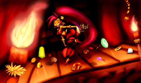 Dancing At The Dance Parlor :COLLAB: by TwisterTH