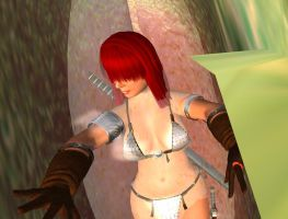 Red Sonja Venus Fly Trap 11 by kaolumbia