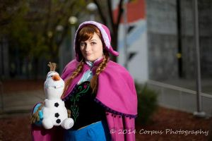 .Princess Anna of Arendelle. by Behugg