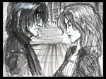 snape and lily by Hillary-CW
