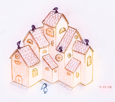 The House on Orange Street by SorbetBerry
