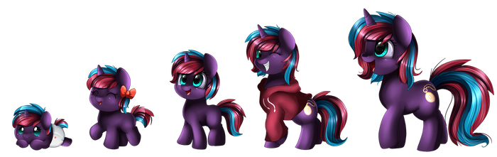 Comm: Filly to Mare by pridark