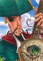 ACEO - You shot my Banjo by BloodhoundOmega