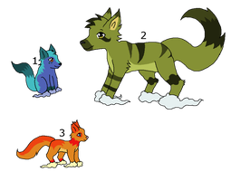 Cloudpaw adoptables by LizzysAdopts
