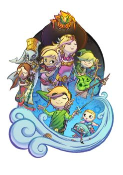 The Legend of Zelda: The Wind Waker by Wolfgun