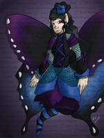 GIFT The Swallowtail Fairy GIFT by I3-byUsagi