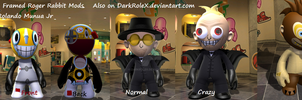 Who Framed Roger Rabbit mods by DarkRoleX