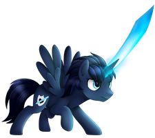 The Blade that Defends by ChaosPhantom444