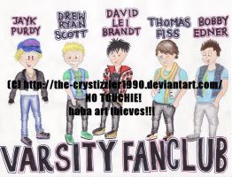 Chibi Varsity Fanclub by The-Crystizzler1990