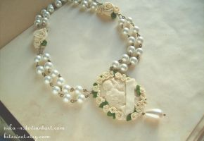 Maiden of Cupid necklace I by Nika-N