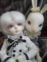 white rabbit times two by child-of-aros