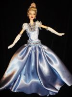 cinderella barbie doll by dakotassong