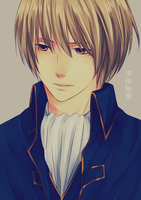 Gintama: Okita Sougo by gededude