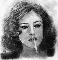 Monica Bellucci by Aes25