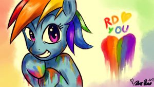 MLP: Colorful Love by DatPonyPL