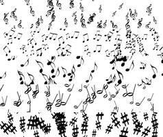 Music Brushes by carrybag93