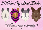 Bridesmaid Invites by MicheWoof