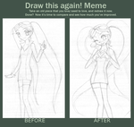 Draw this again Meme by firehorse6
