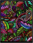 Trippy Paisley Madness by Quaddles-Roost