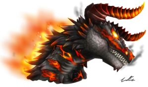 Fire Dragon by Dargonite