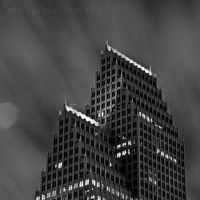 Houston at Night IV by DrGiancarlo